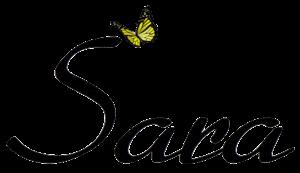 unterschrift sara